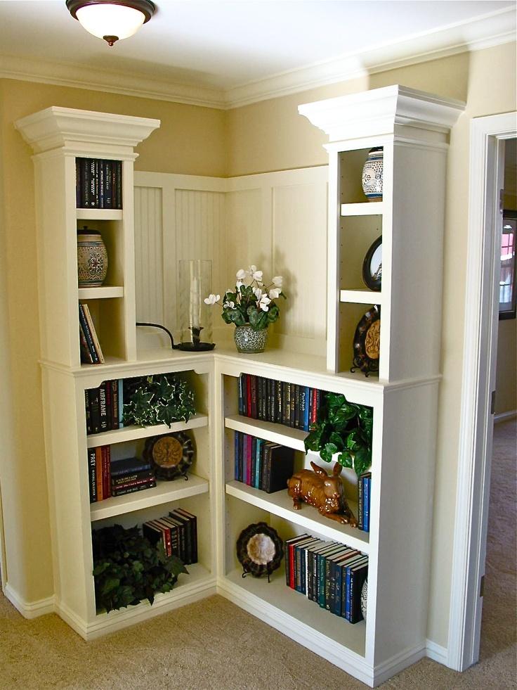 Corner Desk With Bookshelf
