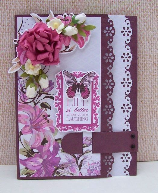 Best of Betsy's - Kaisercraft's Violet Crush collection