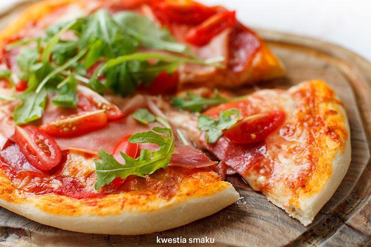 SZYBKO CIASTO NA PIZZĘ Pyszna domowa pizza krok po kroku