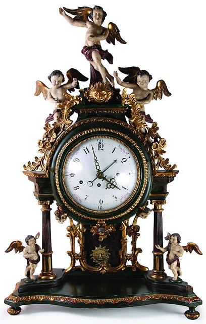 ❤ - Antique clock                                                                                                                                                      More