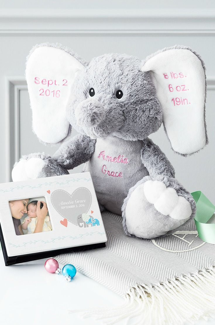 40 best gifts for kids images on pinterest kids gifts childrens find the best baby shower gifts at things remembered personalize a plush elephant with babys negle Gallery