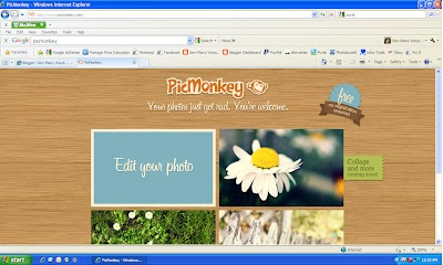PicMonkey.com free photo editing site allowing you to do basics like crop, rotate, resize, etc.; add effects, do touch-ups, add text, add shapes & borders