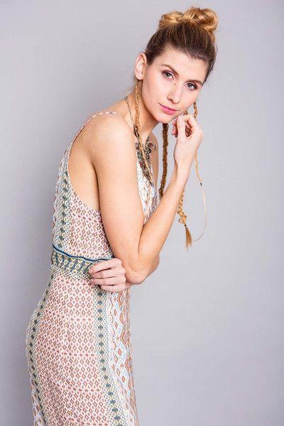 """Neckholderkleider - Kleid """"Lapacho"""", Ethno-Stoff - ein Designerstück von bluetezeit-berlin bei DaWanda"""