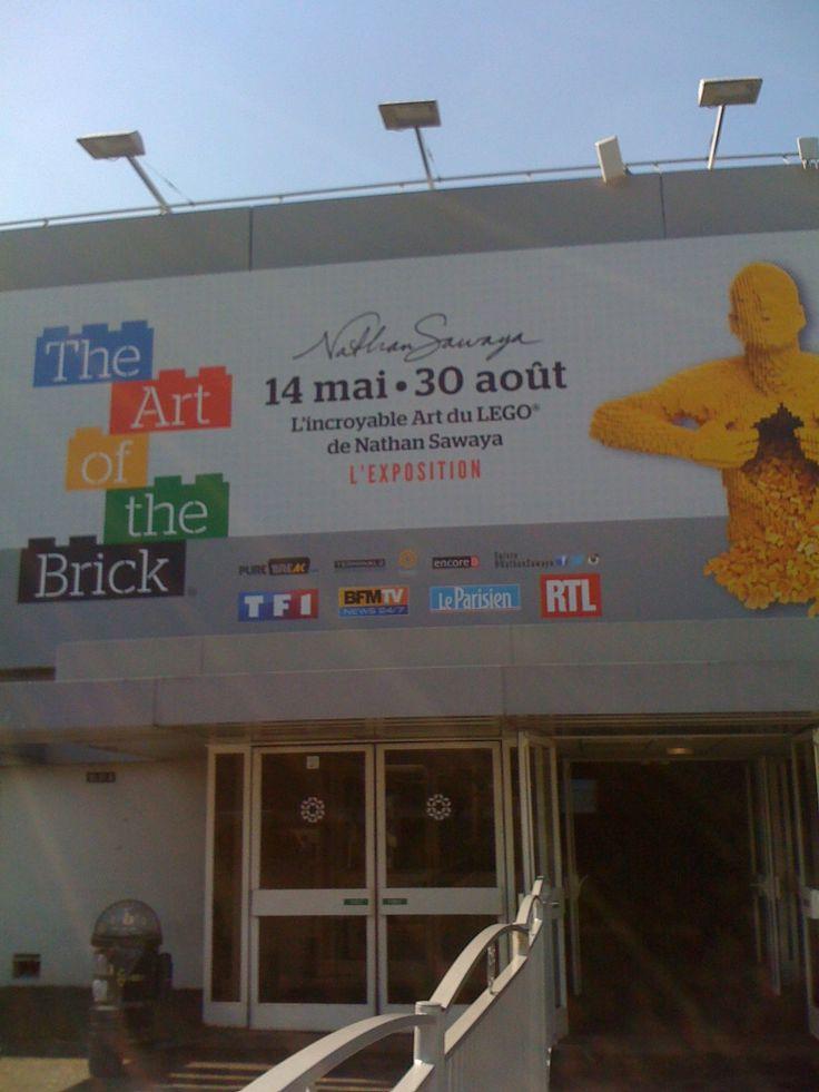 The Art of The Brick, l'expo Lego à la Porte de Versailles à Paris. Si le prix de l'entrée ne vous fait pas peur ;)