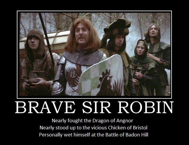 Brave Sir Robin - Monty Python