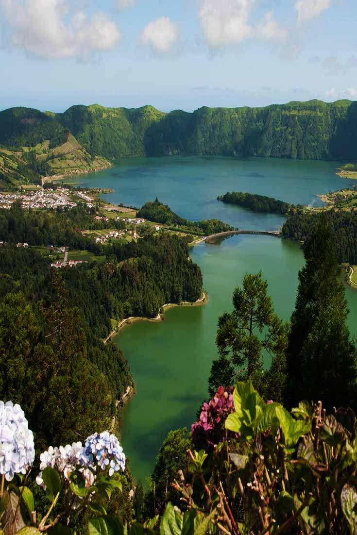 Caldeira das Sete Cidades. Sao Miguel, Açores, Portugal