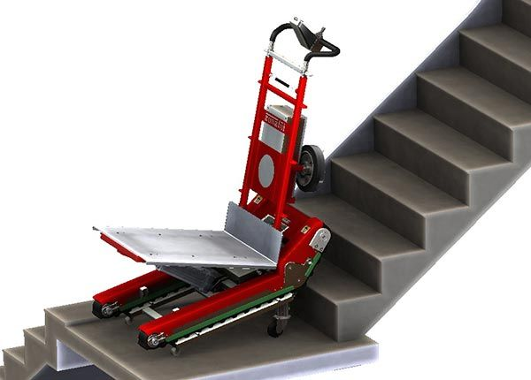 Stair Climbing Robot With Manual Or Automatic Mode Stair Climbing Stairs Moving Tools