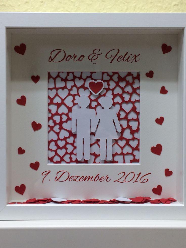 Ribba-Rahmen zur Hochzeit einer lieben Kollegin