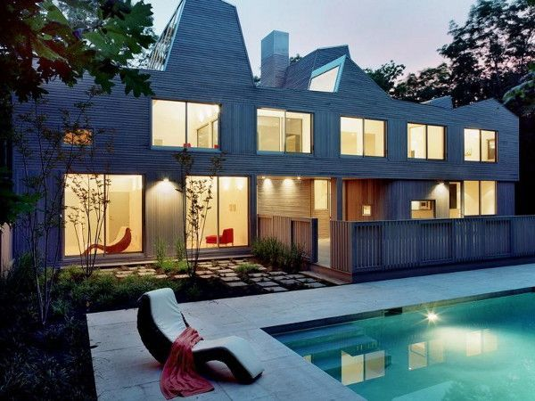 Sagaponack Home designed by Stan Allen