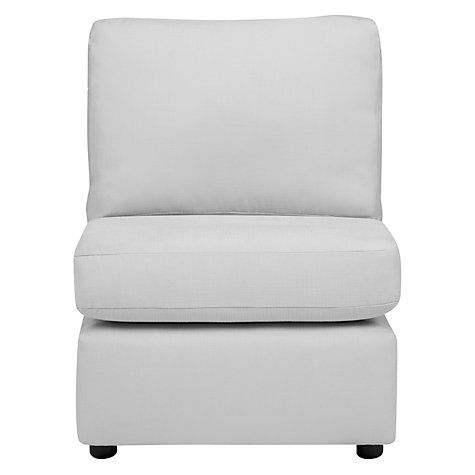 Buy House by John Lewis Oliver Modular Single Armless Chair Unit Online at johnlewis.com