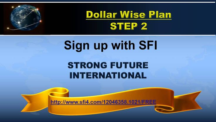 The Dollarwise Network Watch the video to learn more and then visit http://www.elizsfi.ws  Follow three simple Steps to get started 1. Sign up for GDI 2. sign up for SFI 3. set up your website on tripleclicks.