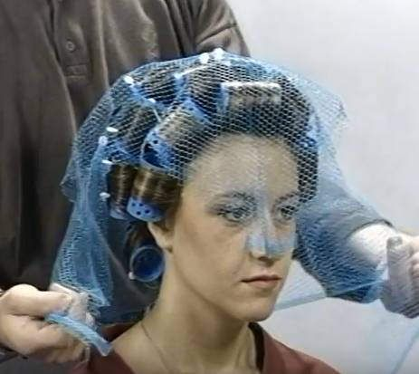 So Much Better Than Any Veil Rollers Hair Nets Hair