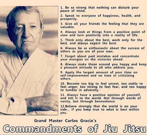 "jiu-jitsu-jungle: "" The commandments of jiu jitsu by Carlos Gracie #jiujitsu #jiu #jiujitsulifestyle #brazil #brazilianjiujitsu #bjjlifestyle #oss by jits_life https://www.instagram.com/p/BAGzfuYBdGy/ """