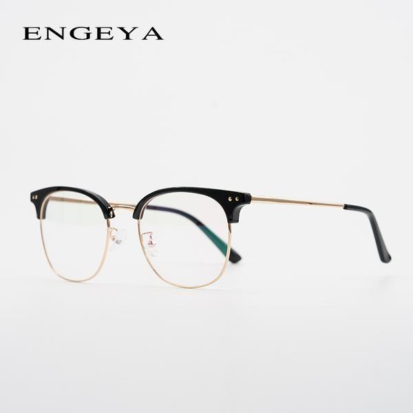 #FASHION #NEW Metal Men Prescription Glasses Clear Round Fashion Optical Transparent For Male Eyeglasses For Men #BD10509