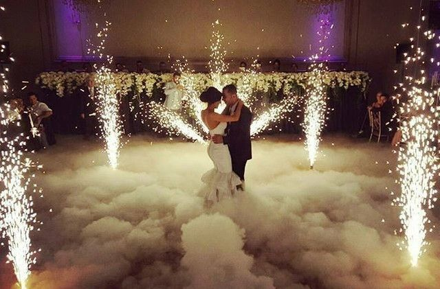 Clouds and Fireworks First Dance… Cheezy or Romantic? ??? Visit us at…