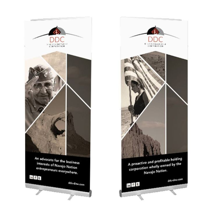 We recently completed trade show materials for Diné Development Corporation - DDC. They attended the largest Navajo conference in the country in Las Vegas, Nevada. Materials included pocket folders with inserts, table tents, retractable banners, hanging signs and dimensional backdrops. #graphicdesign #banners #worxgd