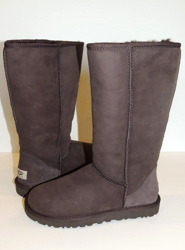 UGG SALE!! UGG Classic Tall Chocolate Womens Winter Boots 5815 - 100% Authentic #FOLLOWITFINDIT