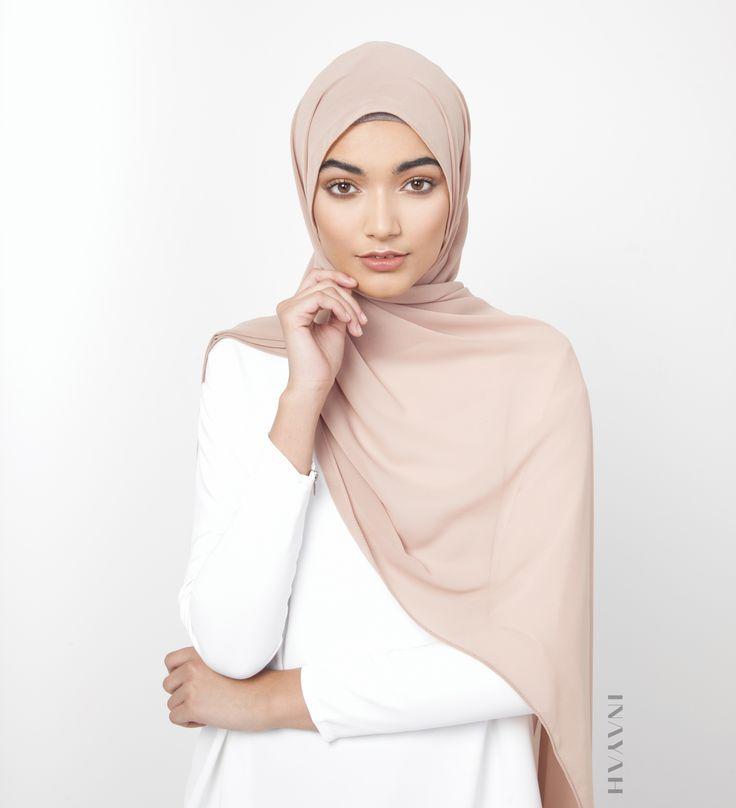 INAYAH   Fawn Soft Crepe #Hijab - www.inayah.co
