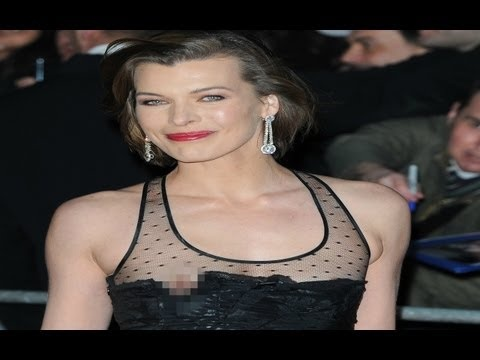 Milla Jovovich Big Nip Slip Milla Jovovich Pinterest