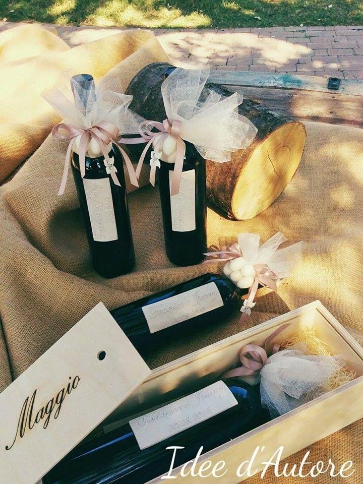 #bomboniera #bottiglia di vino #bottigliadivino