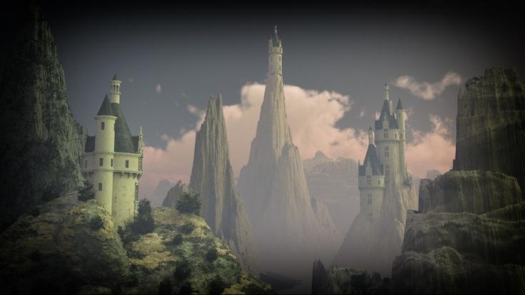 Drei abgeschiedene Burgen