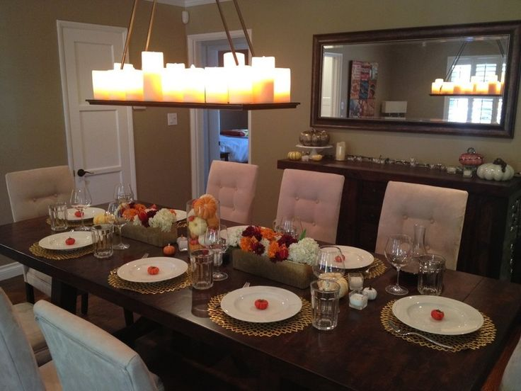 Chilewich dahlia placemats houzzers 39 tablescapes capture Cheap thanksgiving table setting ideas