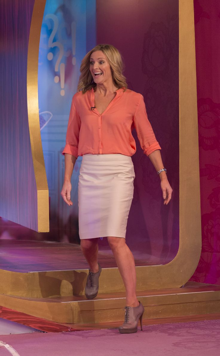 Gabby Logan – 'Loose women' 10.10.12