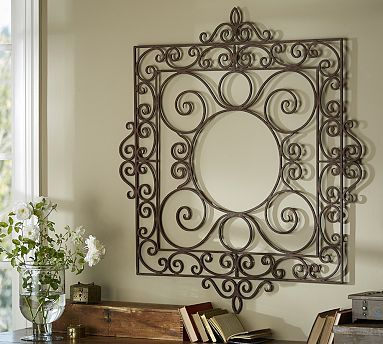 Garden Gate Wall Art #potterybarn Perhaps not $249 at Pottery Barn, but something like it.