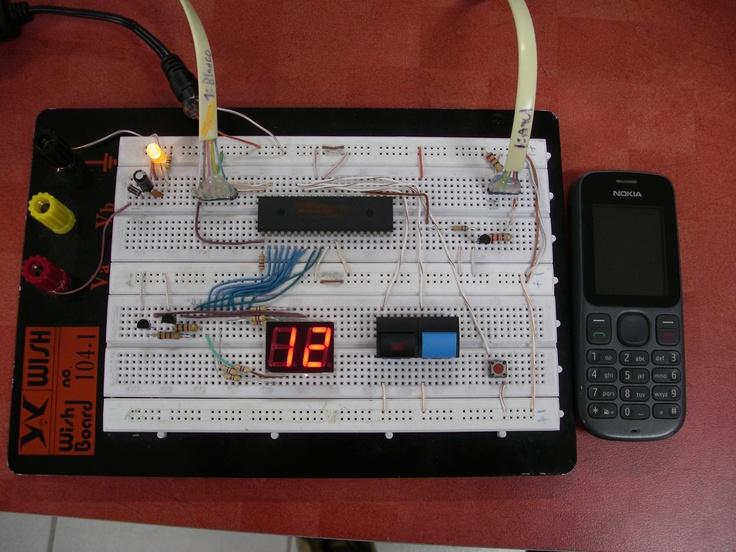 Despliegue en protoboard de prototipo botón