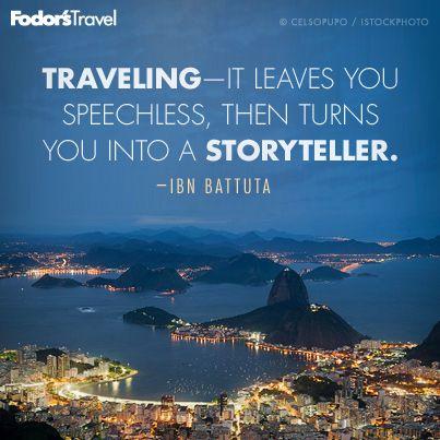 My travel stories