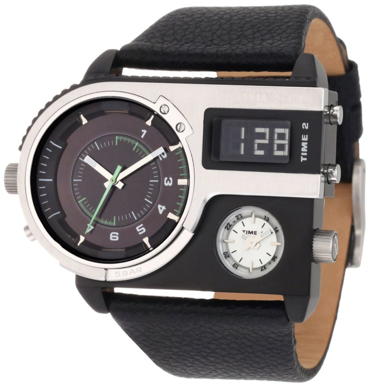 SBA black and red dial watch. http://www.squidoo.com/mens ...