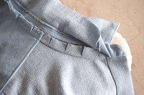 grainline Studio | Alder Sew Along | Attaching the Collar