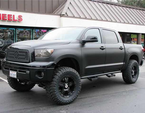 This Is Jon Fitch's Custom Toyota Tundra