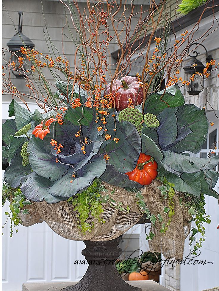 Fall Urn by Serendipity Refined