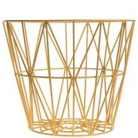 Ferm Living Wire Basket - Yellow