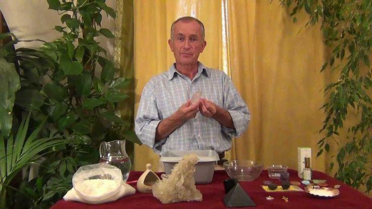 Purification des pierres par Gérard CAZALS