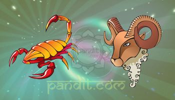 SCORPIO AND ARIES COMPATIBILITY by Pandit Rahul Kaushal  --------------------------------------------------------- The Taurus Scorpio compatibility match will be fired by sensuality, excitement and delicious dangers. Some of their personality traits are contrasting in nature.  http://www.pandit.com/scorpio-love-sign-compatibility/
