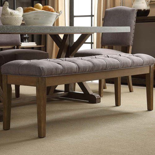 Best 25 upholstered dining bench ideas on pinterest for 3 sided dining room table