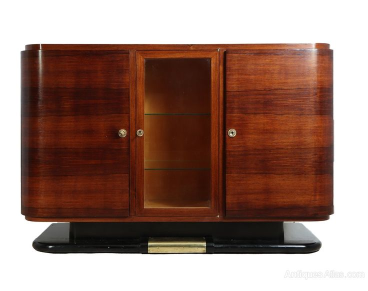 French Art Deco Sideboard in Rosewood C1930