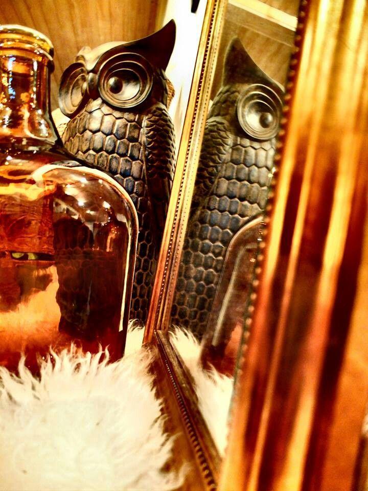 My home <3 wooden owl from kremmerhuset