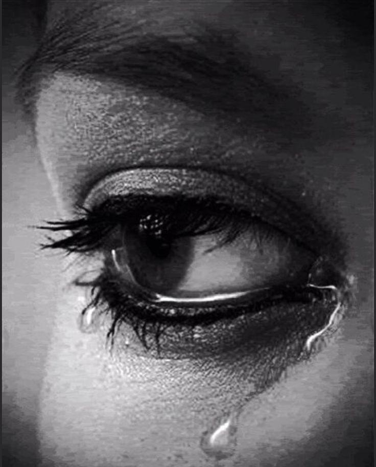 Анимация слезы на глазах