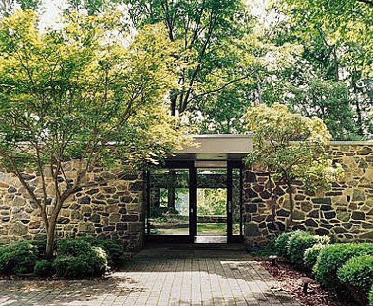 Hooper House II / Marcel Breuer: Mid Century Modern, Marcel Breuer, Houses Ii, Modern Architecture, Front Doors, 1959 Hooper, Art Houses, Hooper Houses, Midcentury