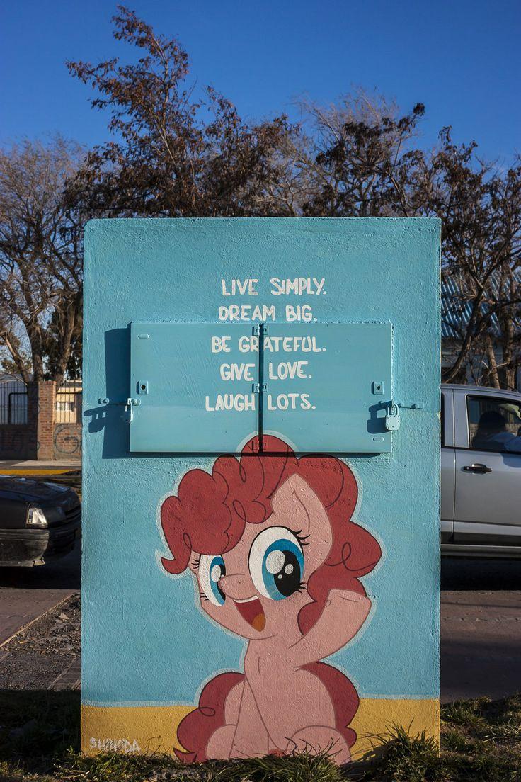Laugh Lots - Filly Pinkie Pie Graffiti by *ShinodaGE on deviantART