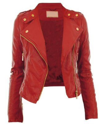 102 best Red Leather Jacket images on Pinterest | Red leather ...