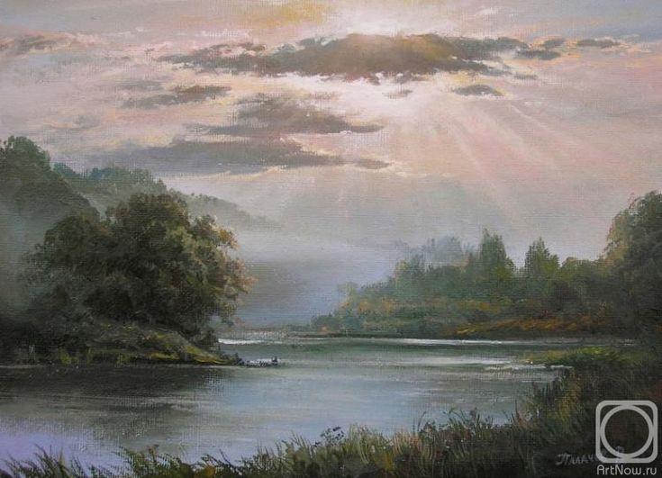 Палачев Вячеслав. Туман над рекой