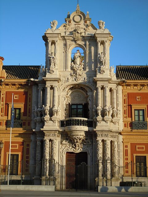 San Telmo Palace in Seville, Spain