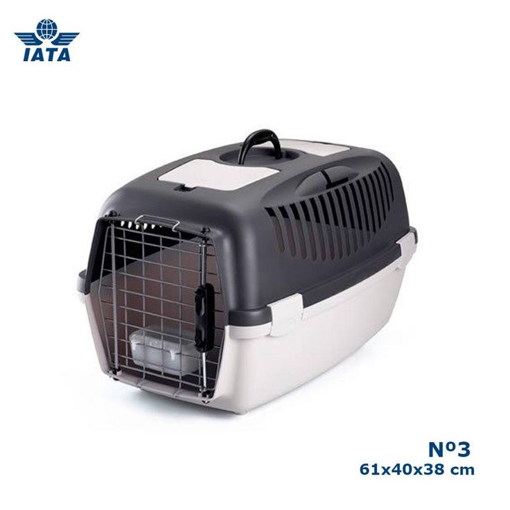 Transportin para perros Gulliver IATA N3 (61x40x38 cm)