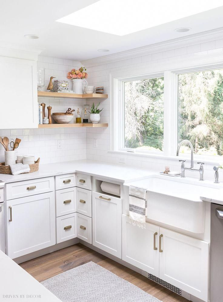 My Kitchen Remodel Reveal Driven By Decor White Kitchen Remodeling Kitchen Remodel Small Kitchen Remodeling Projects