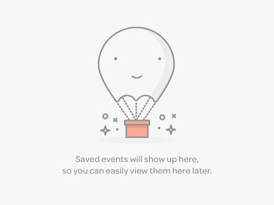 Saved Events Empty Data