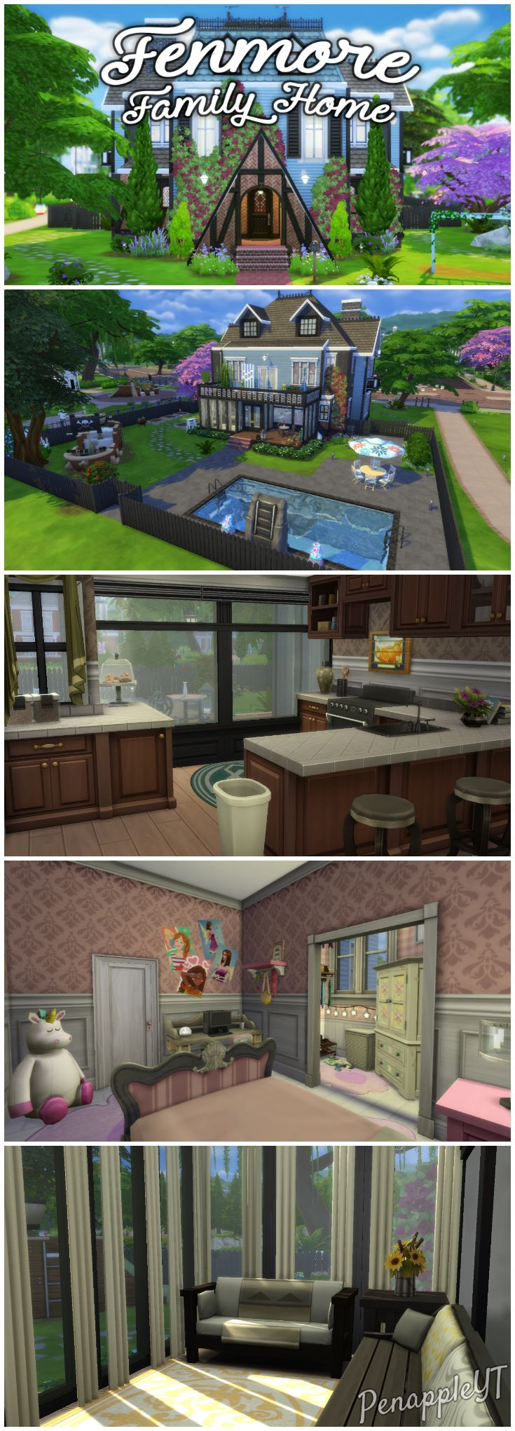 Urban treehouse sims 4 houses - A Large Federal Adam Style Family Home 7 Bedrooms 6 Bathrooms Gym